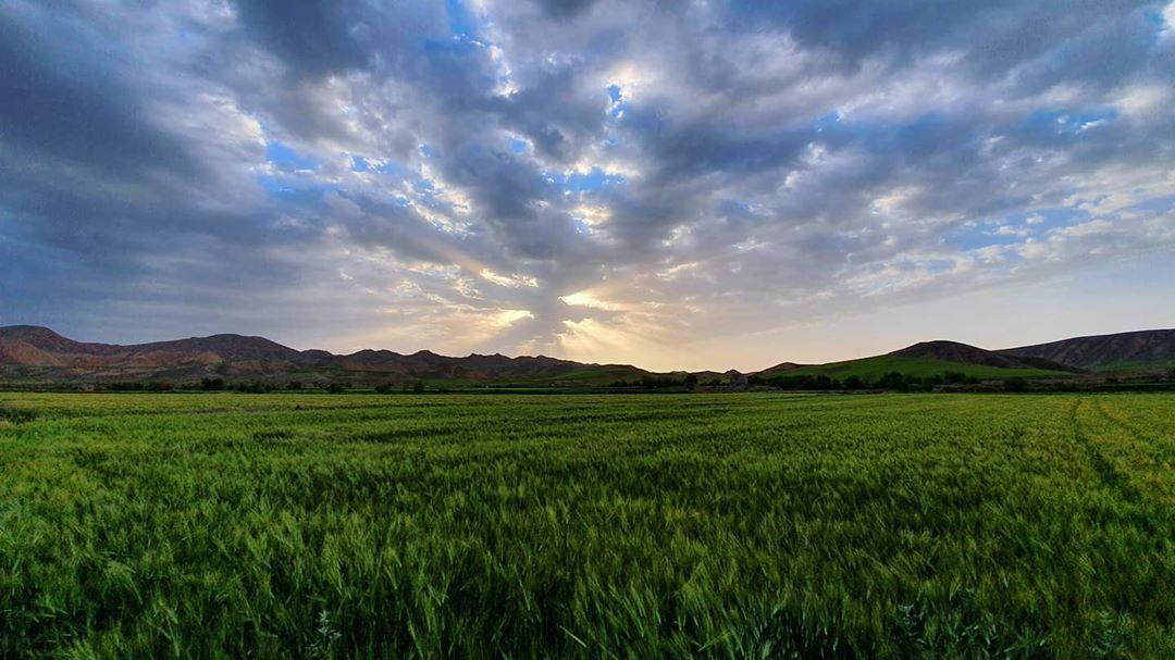 طلوع خورشید. #درگز #ایران #طبیعت #چهلمیر #مشهد