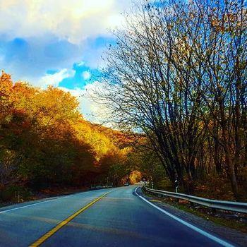 #جاده #پاییز