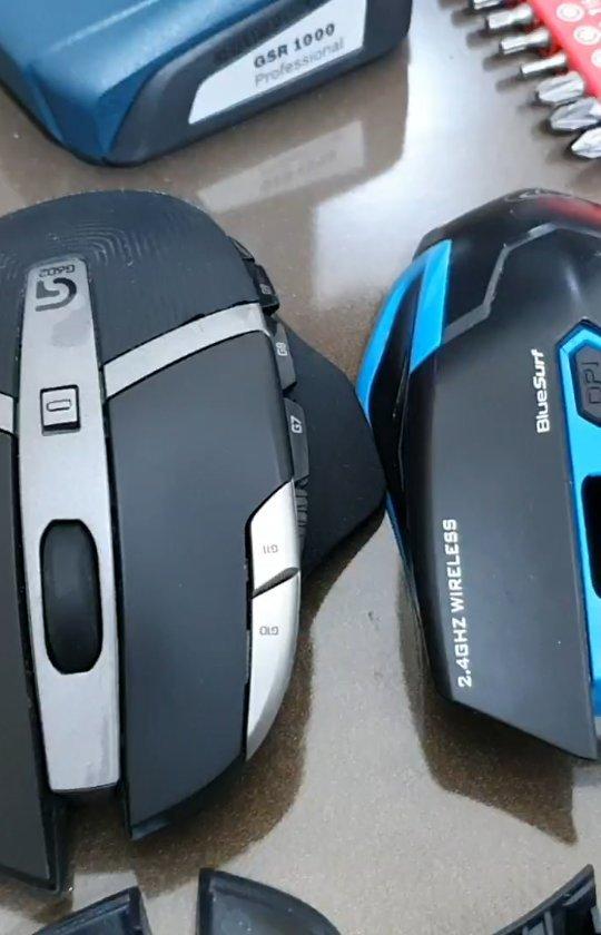 تفاوت سخت افزاری موس لاجیتک با سایر موسهای موجود بازار #لاجیتک #موس #گیمینگ #mouse #logitech #gaming